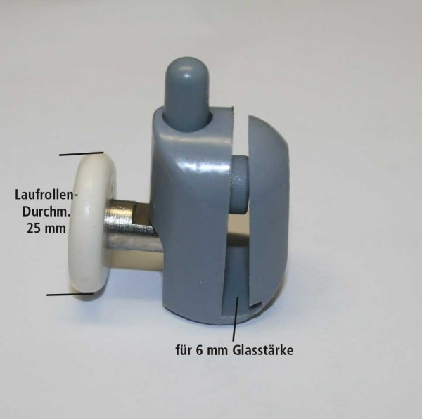 Ersatzlaufrollen-Set für Duschkabinen-Türen