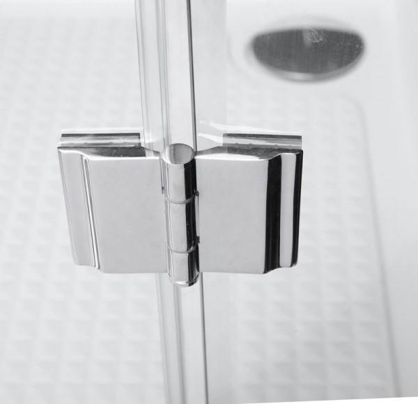 Türband Glas auf Glas für Duschen 135 Grad
