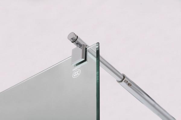 Stabilie Wandhalterung für Glas Duschabtrennungen