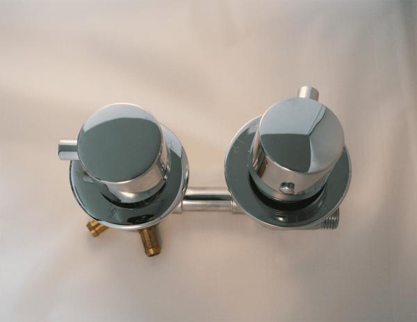 Thermostat Armatur 4-Wege Umsteller G 3/4 Zoll